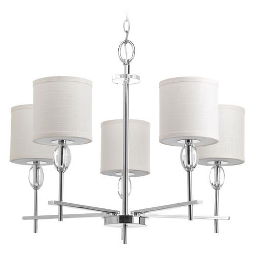 Progress Lighting Progress Lighting Status Polished Chrome Chandelier P4141-15