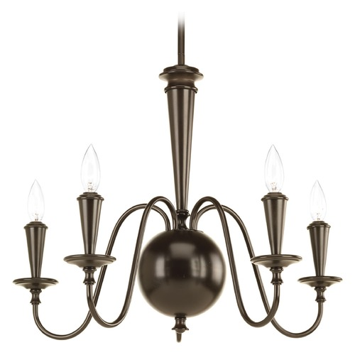 Progress Lighting Progress Lighting Identity Antique Bronze Chandelier P4713-20