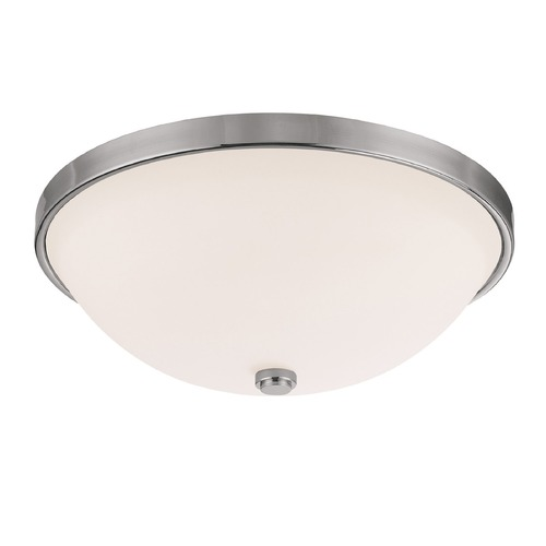Capital Lighting Capital Lighting Polished Nickel Flushmount Light 2325PN-SW