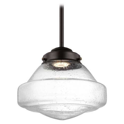 Feiss Lighting Feiss Alcott Oil Rubbed Bronze LED Mini-Pendant Light P1378ORB-LED