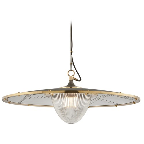 Troy Lighting Troy Lighting Fly Boy Pendant Light with Fluted Shade F4707