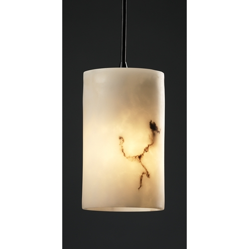 Justice Design Group Justice Design Group Lumenaria Collection Mini-Pendant Light FAL-8815-10-MBLK