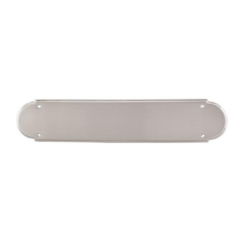 Top Knobs Hardware Push Plate in Brushed Satin Nickel Finish M901