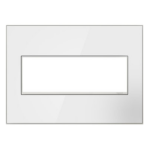 Legrand Adorne Legrand Adorne Mirror White 3-Gang Switch Plate AWM3GMW4