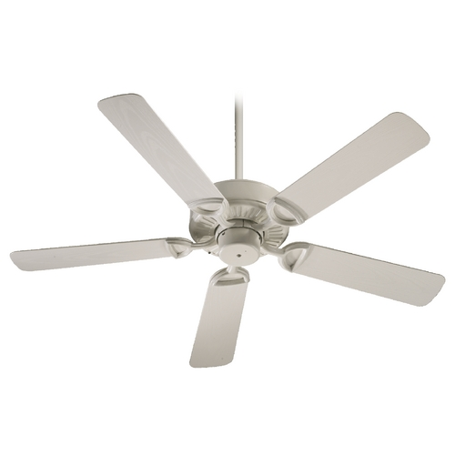 Quorum Lighting Quorum Lighting Estate Patio Antique White Ceiling Fan Without Light 143525-67
