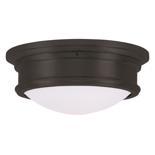 Livex Lighting Livex Lighting Astor Bronze Flushmount Light 7342-07