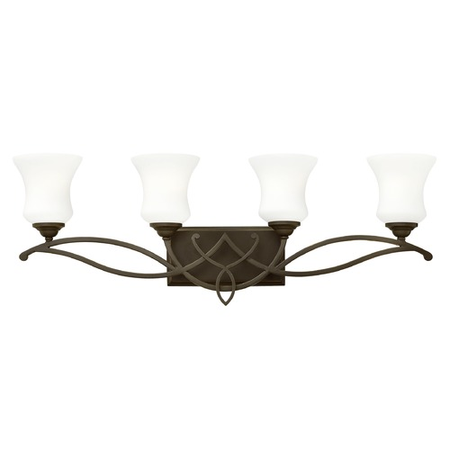 Hinkley Lighting Hinkley Lighting Brooke Olde Bronze Bathroom Light 5004OB-GU24