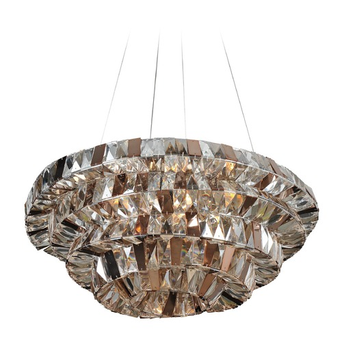 Allegri Lighting Gehry 24in Pendant 026350-010-FR000