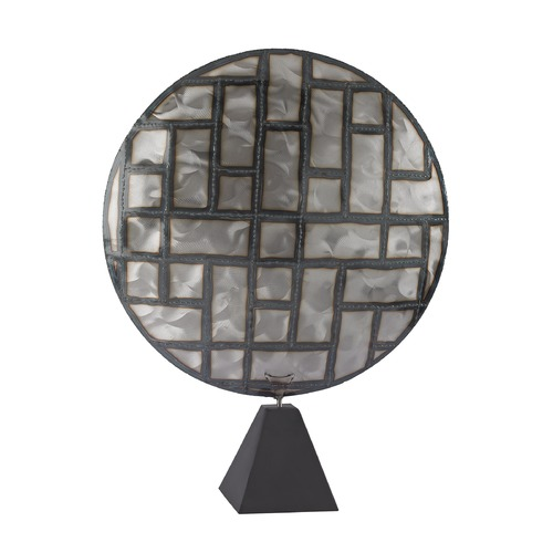 Dimond Lighting Parquetry in Metal Sculpture 153-014