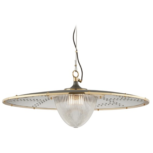 Troy Lighting Troy Lighting Fly Boy Pendant Light with Fluted Shade F4708
