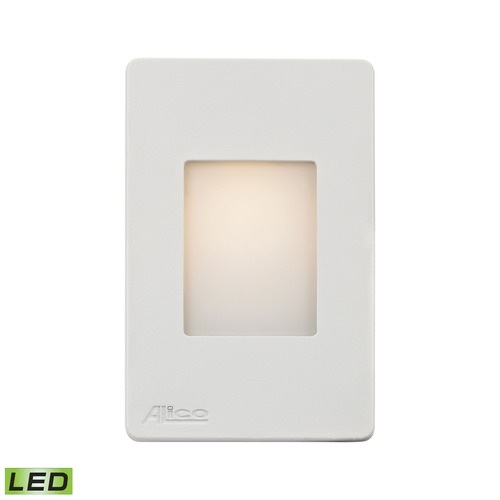 Alico Industries Lighting Alico Lighting Beacon White LED Recessed Step Light WLE1105C30K-10-30