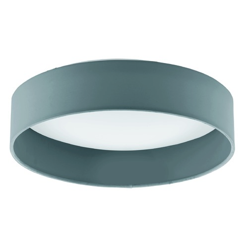 Eglo Lighting Eglo Palomaro Charcoal Grey LED Flushmount Light 93395A