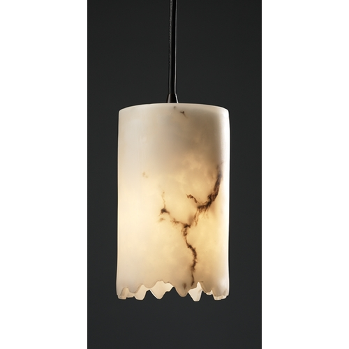 Justice Design Group Justice Design Group Lumenaria Collection Mini-Pendant Light FAL-8815-12-DBRZ