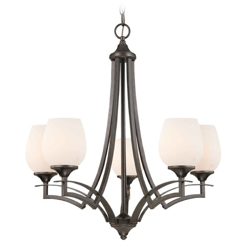 Design Classics Lighting Umbria Olde World Iron Chandelier 27301-34