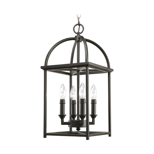 Progress Lighting Progress Mini-Pendant Light in Antique Bronze Finish P3884-20