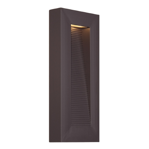 Modern Forms by WAC Lighting Modern Forms Urban Bronze LED Outdoor Wall Light WS-W1116-BZ