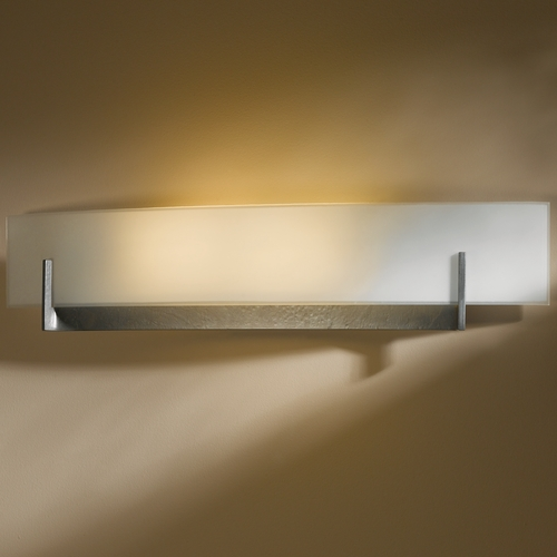 Hubbardton Forge Lighting Hubbardton Forge Lighting Axis Burnished Steel Sconce 206410-SKT-08-GG0328