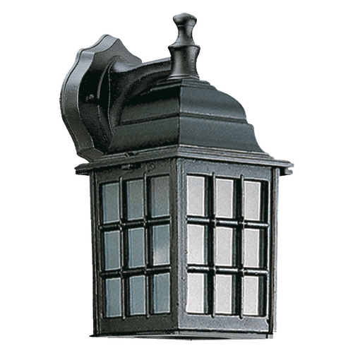 Quorum Lighting Quorum Lighting Thomasville Black Outdoor Wall Light 798-15
