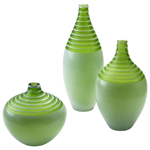 Cyan Design Cyan Design Meadow Green Vase 04055