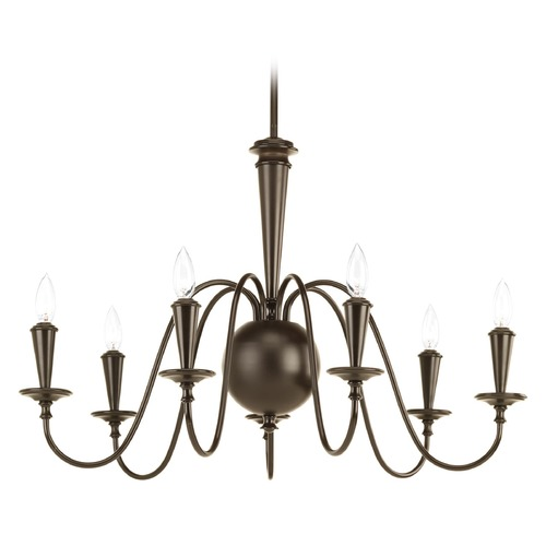 Progress Lighting Progress Lighting Identity Antique Bronze Chandelier P4714-20