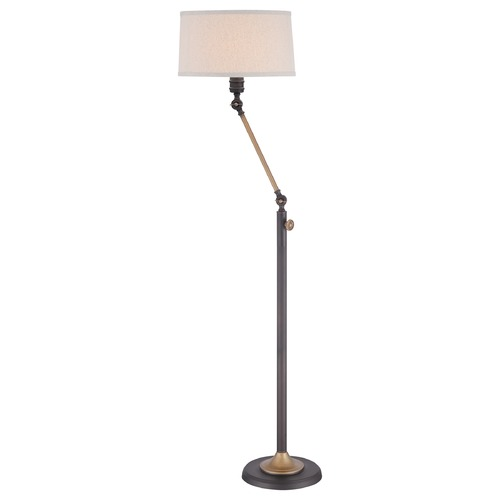 Quoizel Lighting Quoizel Oil Rubbed Bronze Floor Lamp with Empire Shade Q1892FOI