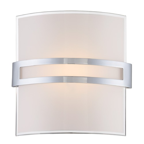 Lite Source Lighting Lite Source Galena Chrome LED Sconce LS-16572