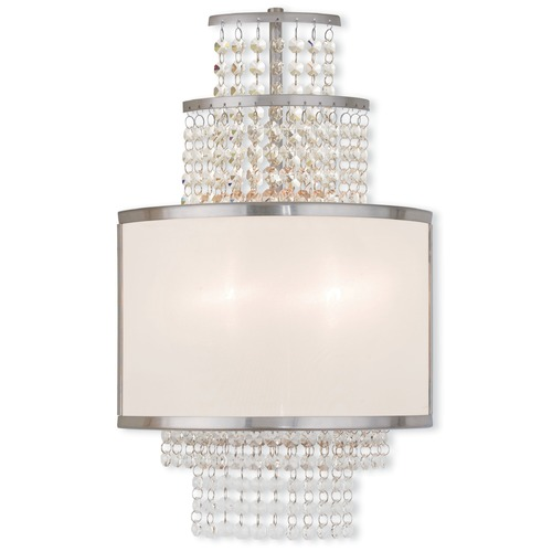 Livex Lighting Livex Lighting Prescott Brushed Nickel Sconce 50782-91