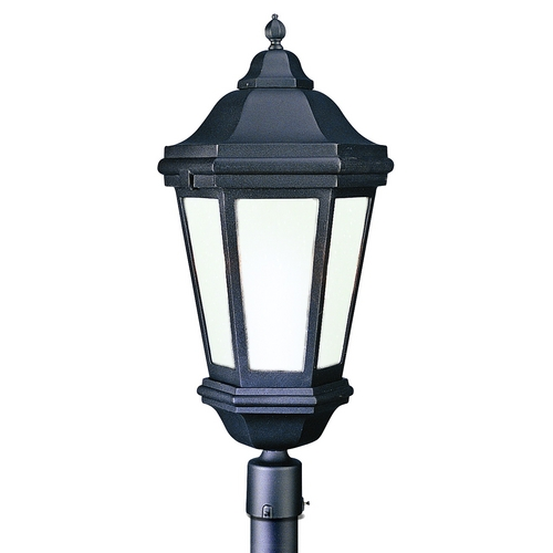Troy Lighting Post Light with Clear Glass in Antique Bronze Finish PFCD6835ABZ
