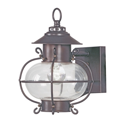 Livex Lighting Livex Lighting Harbor Bronze Outdoor Wall Light 2221-07