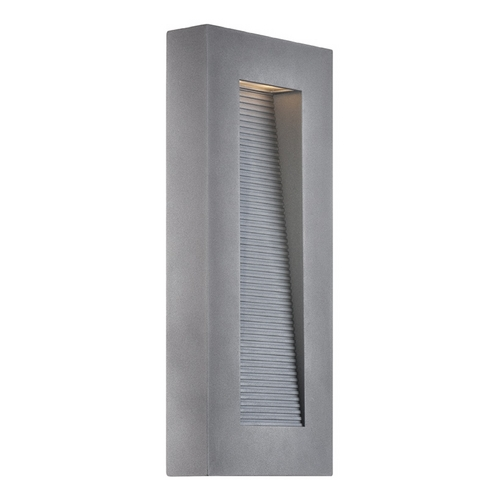 Modern Forms by WAC Lighting Modern Forms Urban Graphite LED Outdoor Wall Light WS-W1116-GH