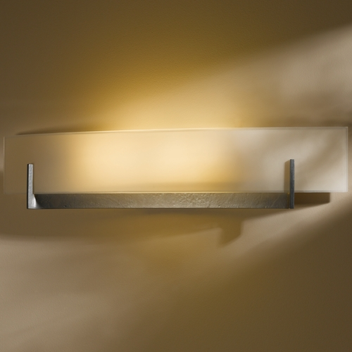 Hubbardton Forge Lighting Hubbardton Forge Lighting Axis Burnished Steel Sconce 20641008-S328