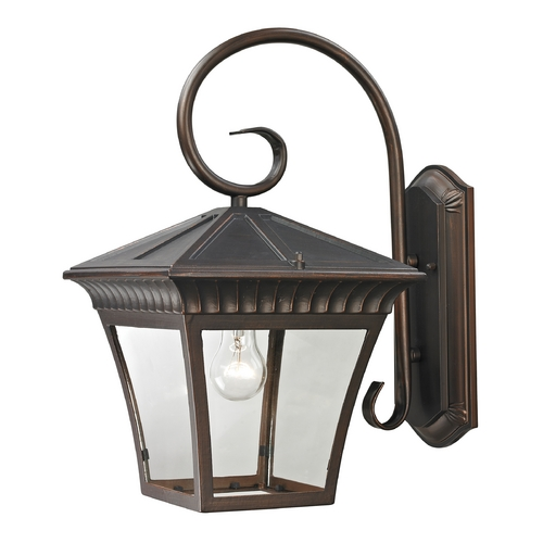 Cornerstone Lighting Cornerstone Lighting Ridgewood Hazelnut Bronze Outdoor Wall Light 8421EW/70