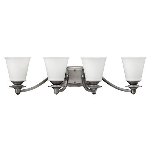 Hinkley Lighting Hinkley Lighting Plymouth Polished Antique Nickel Bathroom Light 54264PL