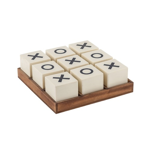 Sterling Lighting Sterling Crossnought Tic-Tac-Toe Game 8903-048