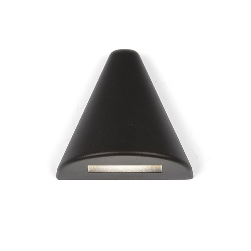 WAC Lighting LED 12V Triangle Deck and Patio Light 3021-30BK