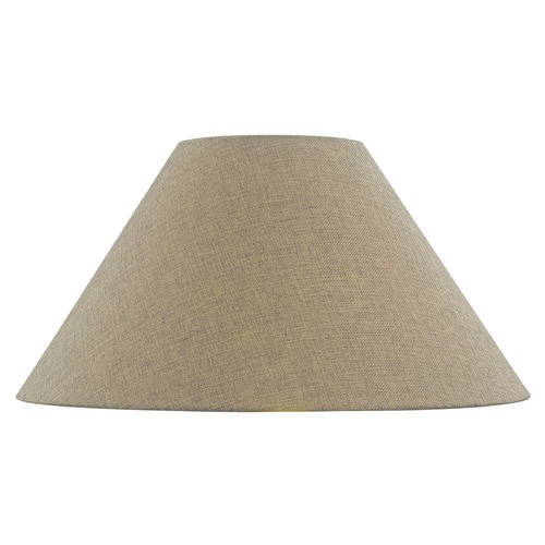 Design Classics Lighting Dark Burlap Coolie Fabric Lamp Shade with Spider Assembly SH9703