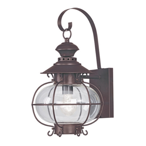 Livex Lighting Livex Lighting Harbor Bronze Outdoor Wall Light 2222-07
