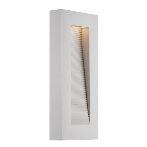 Modern Forms by WAC Lighting Modern Forms Urban White LED Outdoor Wall Light WS-W1116-WT