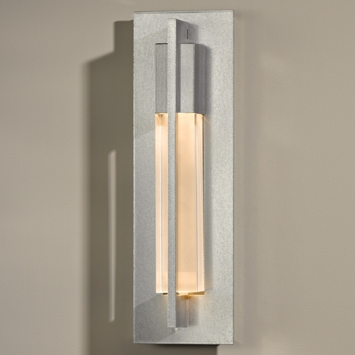 Hubbardton Forge Lighting Hubbardton Forge Lighting Axis Vintage Platinum Sconce 20642082-ZM331