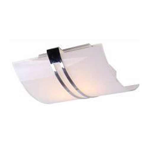 Lite Source Lighting Lite Source Galena Chrome Flushmount Light LS-5572
