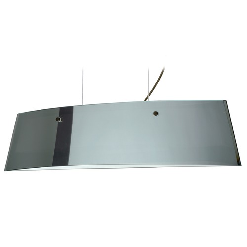 Besa Lighting Besa Lighting Silhouette Bronze LED Island Light with Rectangle Shade LS3-4454MR-LED-BR