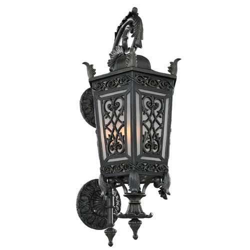 Kalco Lighting Kalco Belcastro Gilded Iron Outdoor Wall Light 401120GI