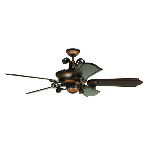 Craftmade Lighting Craftmade Lighting Seville Espana Spanish Bronze Ceiling Fan with Light K11254