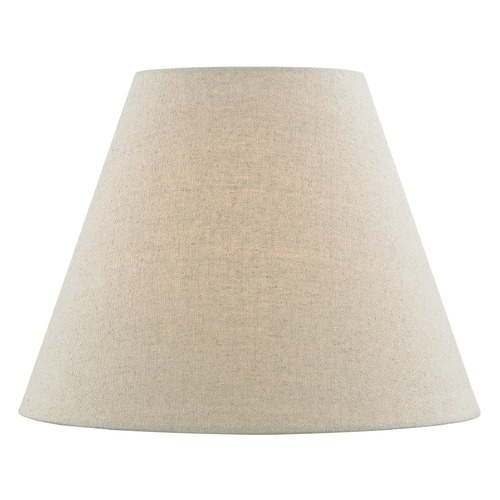 Design Classics Lighting Oatmeal Linen Empire Fabric Lamp Shade with Spider Assembly SH9704