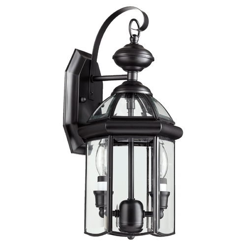Quorum Lighting Quorum Lighting Wellsley Gloss Black Outdoor Wall Light 733-2-15