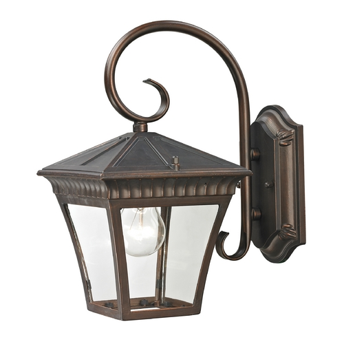 Cornerstone Lighting Cornerstone Lighting Ridgewood Hazelnut Bronze Outdoor Wall Light 8401EW/70