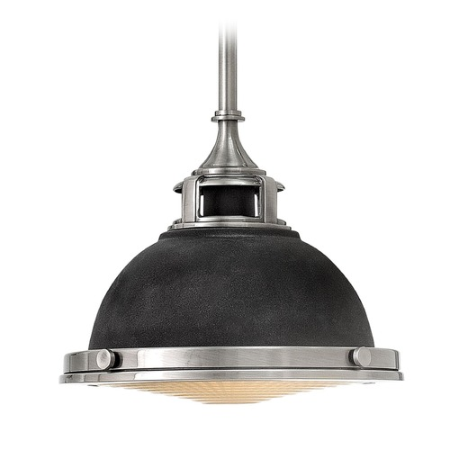 Hinkley Lighting Farmhouse Mini-Pendant Light Zinc Amelia by Hinkley Lighting 3122DZ