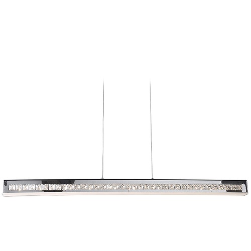 Access Lighting Access Lighting Affluence Chrome Pendant Light 62457LEDD-CH/CCL