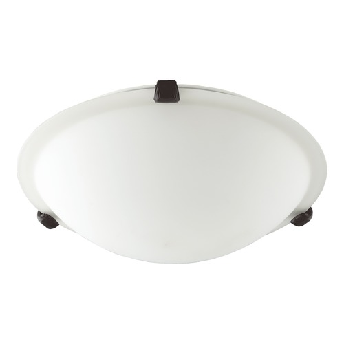 Quorum Lighting Quorum Lighting Oiled Bronze Flushmount Light 3000-12186
