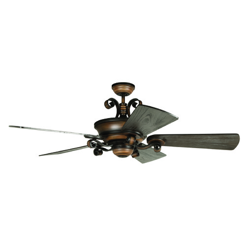 Craftmade Lighting Craftmade Lighting Seville Espana Spanish Bronze Ceiling Fan with Light K11255